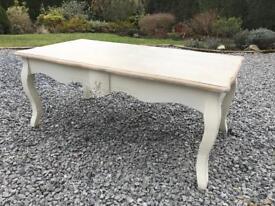 Beautiful shabby chic coffee table