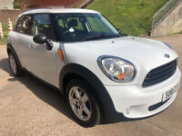MINI COUNTRYMAN 1.6 ONE D 5d 90 BHP BLUETOOTH + PARKING AID + PARKING SENSORS ++