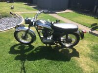 Bsa c15 250cc good con all working perfect mot and tax excempt log book in my name