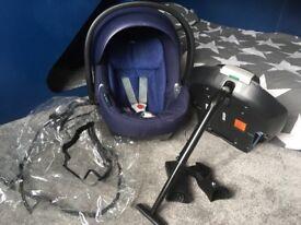 Cybex platinum ltd edition car seat with accessories