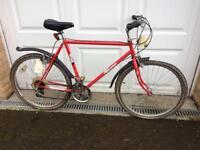 Bike frame steel