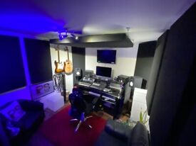 NEW BUILD- Fully Sound Proofed Recording/ Producing Music Studios available in East London