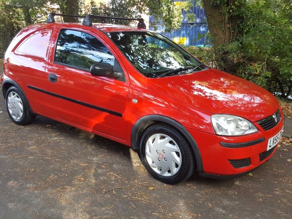2006 VAUXHALL CORSA VAN 1.3 CDTi 16v PANEL VAN 3 DOOR 55 REG FULLY SERVICED LONG MOT CHEAP VAN