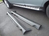 Plastic outer sills for Volvo XC 60 year 2009