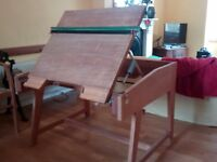 Large wood drafting table for sale - REDUCED