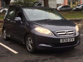 2007 HONDA FRV 2.2 CDTI * 6 SEATS * 1 OWNER * F.S.H * LOW MILES * PART EX * DELIVERY * FINANCE *