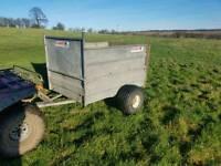 5x3 Logic quad atv trailer for livestock logs stables farm etc
