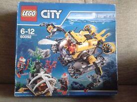 LEGO City Deep Sea Submarine (60092)