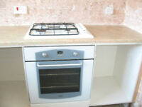 Built in Belling electric oven and Indesit gas hob