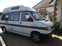 VW T4 2.4 Deisel with Tubo + Intercooler Auto-sleeper Topaz