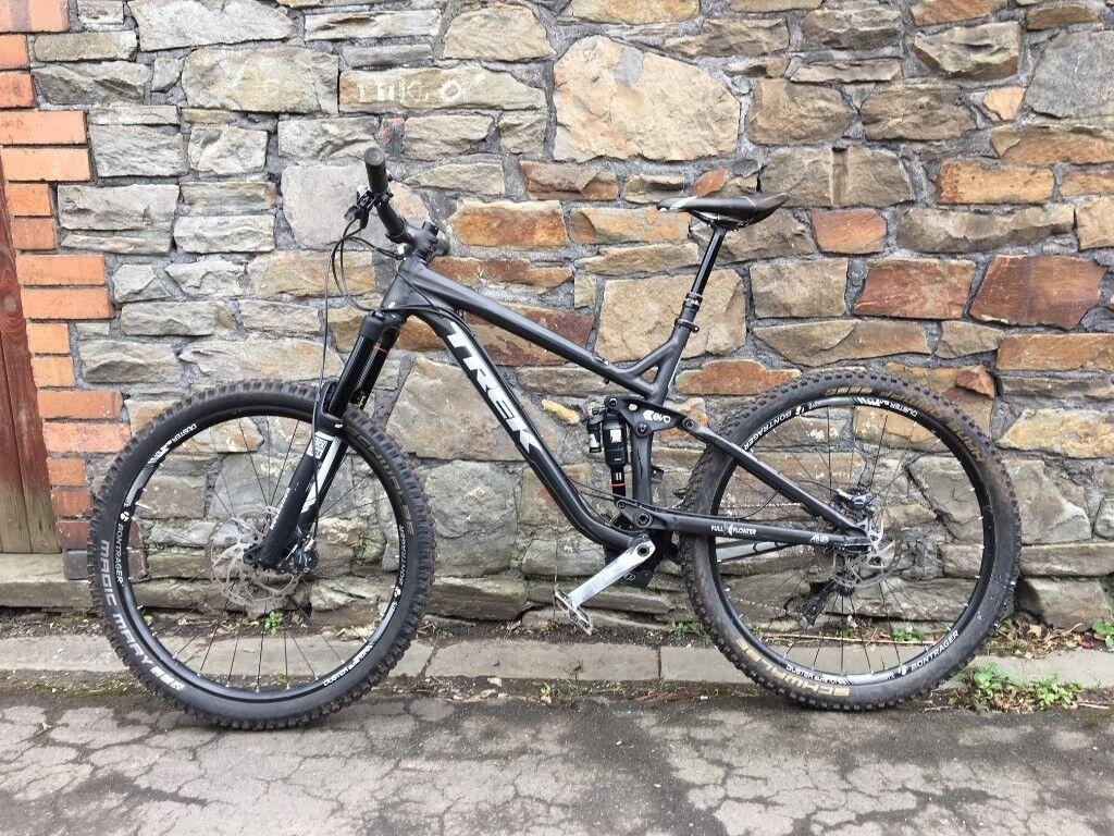 "f2974cb3951 2015 Trek Slash 8 650B 19.5"" Full Suspension Enduro Mountain Bike"