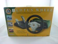 BOXED GAMESTER LOTUS STEERING WHEEL FOR ORIGINAL XBOX - TESTED/WORKING- EXCELLENT CONDITION
