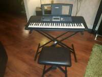 Yamaha YPT230 electronic keyboard