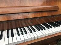 Zender upright Piano free delivery