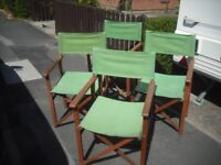 4 chairs £35