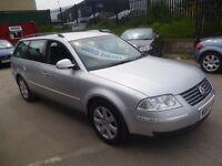 Volkswagen PASSAT TDI 4 motion,4x4 estate,FSH,full MOT,tow bar fitted,clean tidy car,runs very well