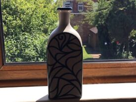 Glass Vase Hnadfinished Paintwork