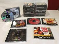 Sony PS1 Console with 6 games