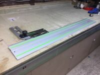 FESTOOL PLUNGE SAW RAIL, WITH COMBINATION BEVEL