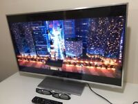 "Panasonic Viera TX-L42ET60B 42"" Full HD 1080P 3D LED, Smart Viera, Wi-Fi Built in with Freeview HD"