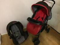 Mothercare travel system pushchair