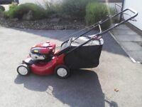 Craftsman 21 inch cut self propelled petrol lawn mower - 7HP