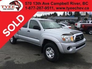 2005 Toyota Tacoma SR5 Double Cab No Accidents Matching Canopy