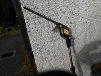 Long reach hedge cutter...18 volt ...