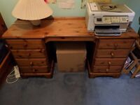 Attractive and functional wooden desk for office or bedroom