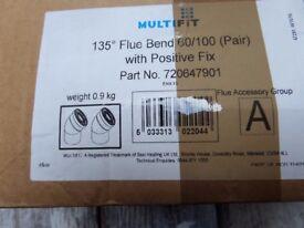 MULTIFIT BOILER BENDS( 135 DEGREES TOTAL)