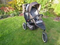 Phil & Ted Dash Double Buggy with Accessories in very good condition.