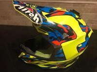 Airoh motocross scrambler motorbike helmet