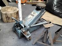 Trolley jack 3ton and axle stands