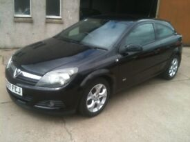 07 PLATE VAUXHALL ASTRA 1.4 SXI 3DR SPORTS HATCH 54000MILES FSH 1OWNER £2975
