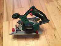 PARKSIDE CORDLESS CIRCULAR SAW 20 VOLT NEW IN CARRY CASE UNIT ONLY not Dewalt Bosch Makita