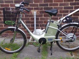 electrc ped bike