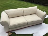 French Style 2 X 3 seater Sofas