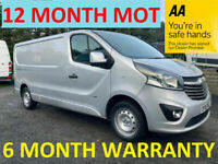 Vauxhall, VIVARO, Panel Van, 2016, Manual, 1598 (cc)***12 MONTH MOT***