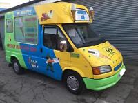 Ford Transit Ice Cream Van X reg 2000 with Eletric System Immaculate Condition