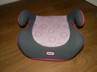 little tykes booster seats pink excellent condition