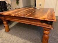 Wooden coffee table (Open to offers)