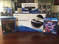 Sony vr, cam and games