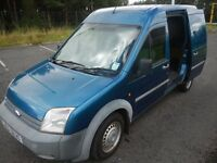 FORD TRANSIT CONNECT 2008 LWB-LX-T230 TDCI (PS 110) DIESEL VAN**NO VAT**