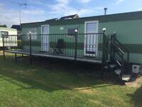 2 Bedroom static caravan for sale in greenacres caravan park dovercourt Harwich-essex