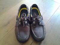 MENS TIMBERLAND BOAT SHOES LEATHER LACES