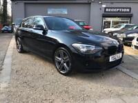BMW 1 SERIES 2.0 120D M SPORT 5d 181 BHP (black) 2012