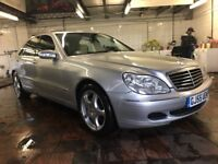 2005 55 Reg Mercedes Benz S320 Cdi limousine Fully loaded