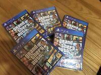 GTA V 5 Playstation 4 PS4 Brand New *** SEALED ****