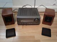 SONY AMP / JVC SPEAKERS