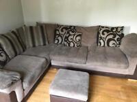Corner L shape sofa